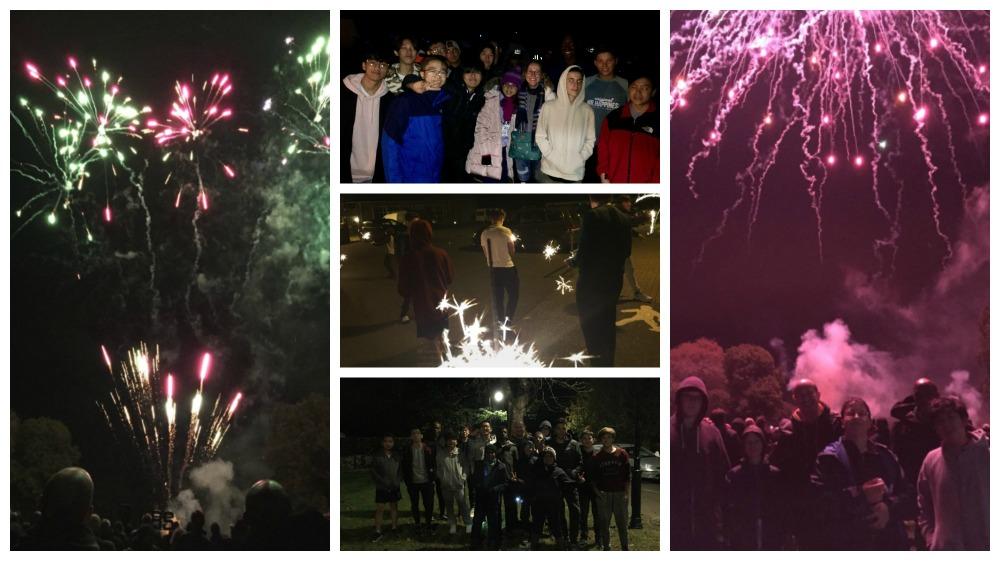 Bethany school pupils enjoy bonfire night
