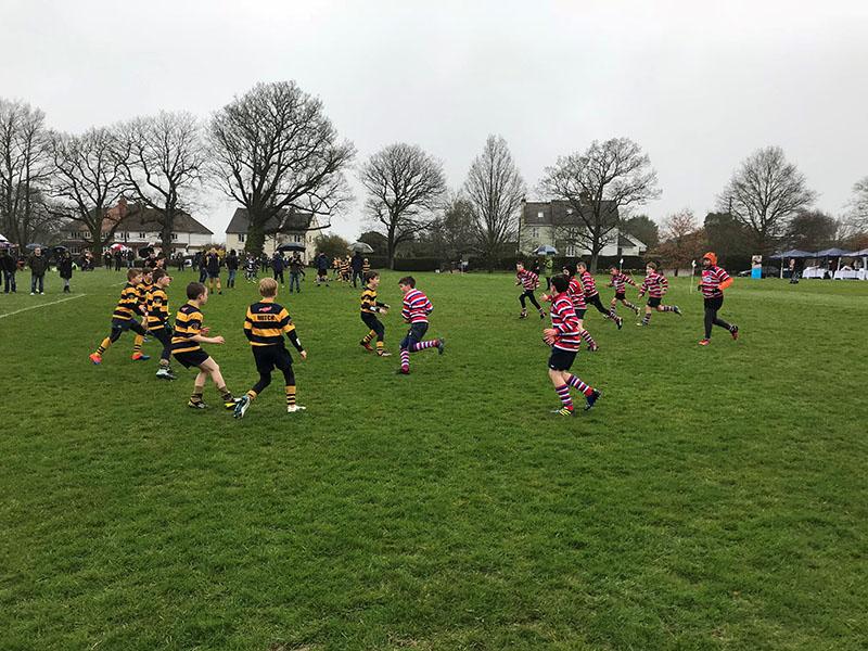 TJs and Sevenoaks battling it out